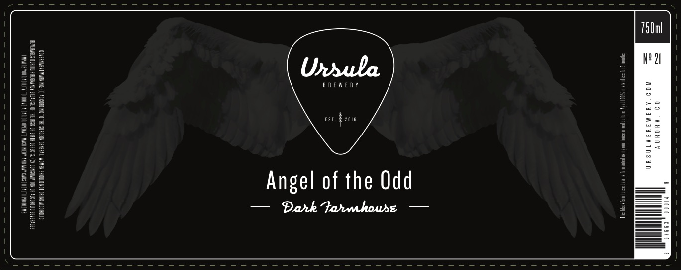 Angel of the Odd | Ursula Brewery | Aurora Colorado Brewery
