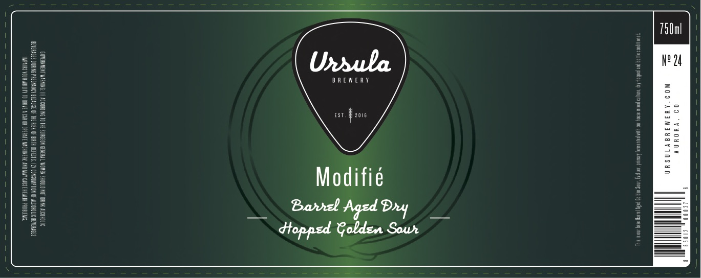 Modifie Dry Hopped | Ursula Brewery | Aurora Colorado Brewery