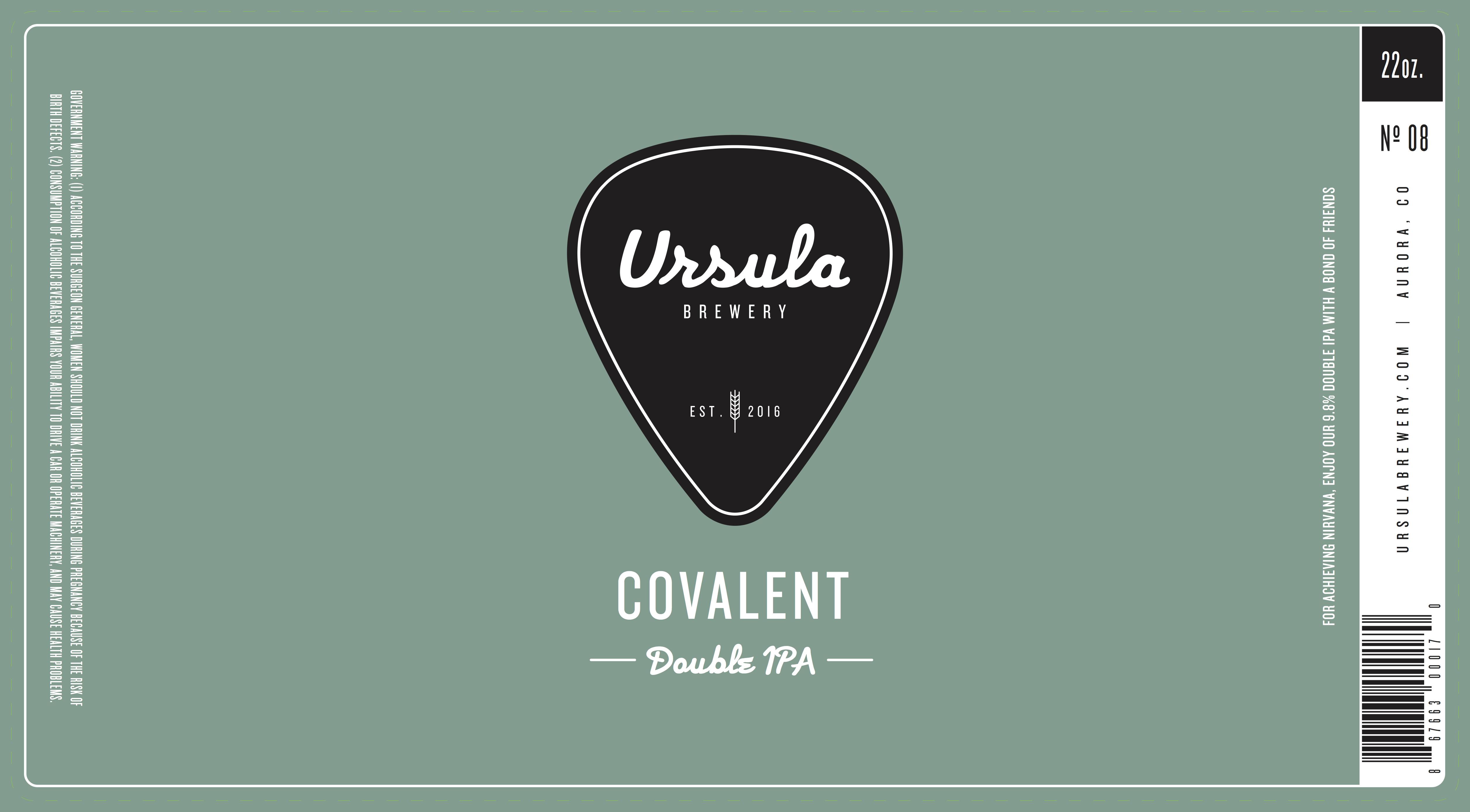 Covalent | Ursula Brewery | Aurora Colorado Brewery