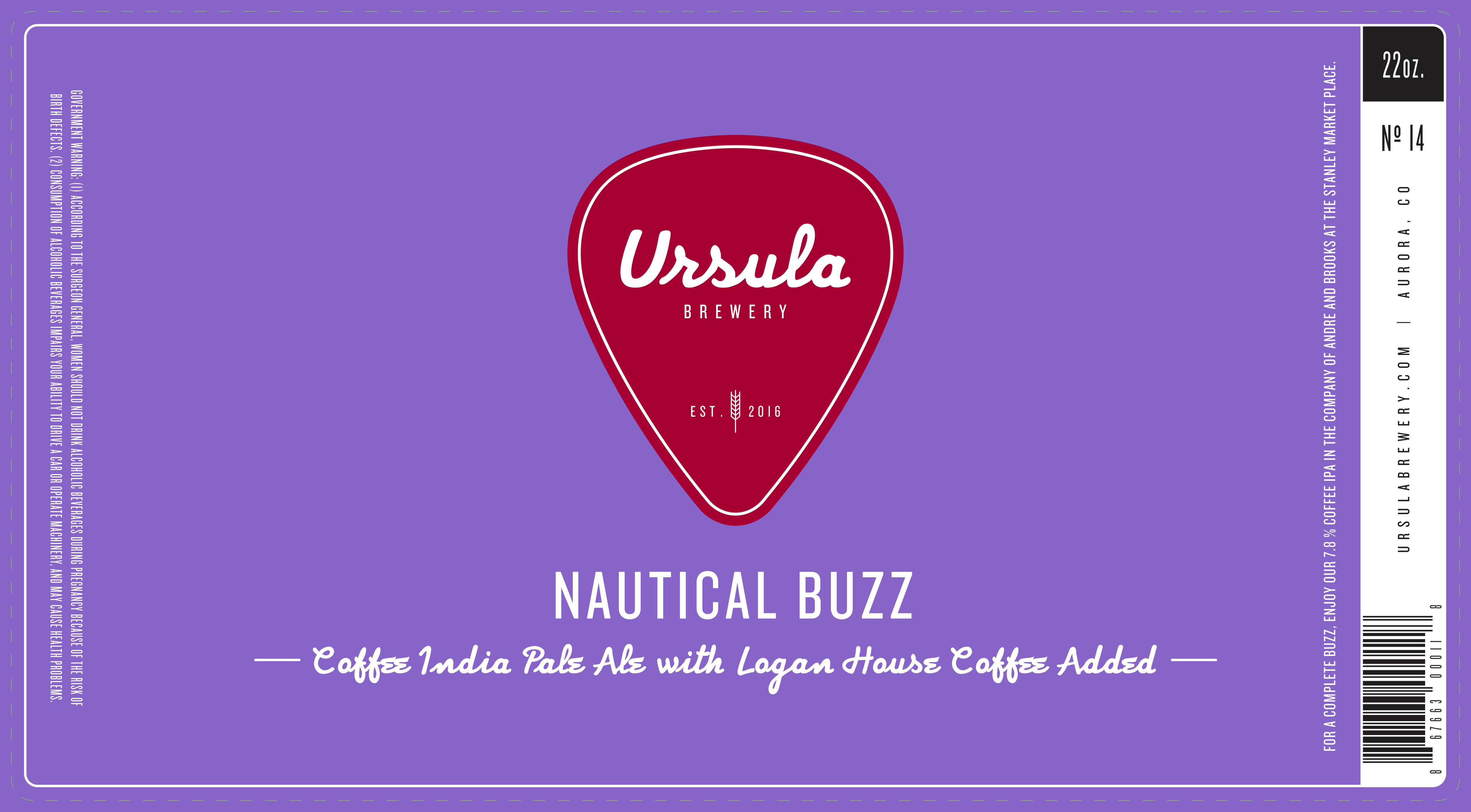 Nautical Buzz | Ursula Brewery | Aurora Colorado Brewery