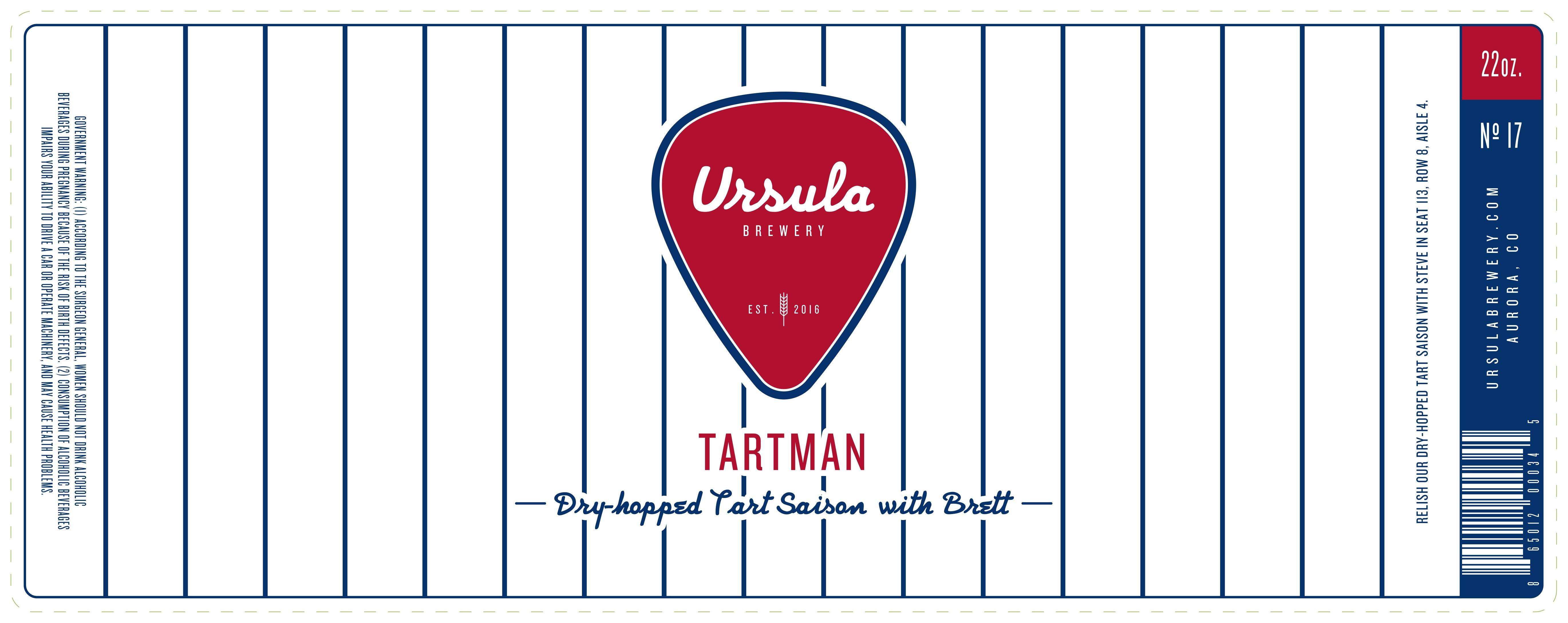Tartman | Ursula Brewery | Aurora Colorado Brewery