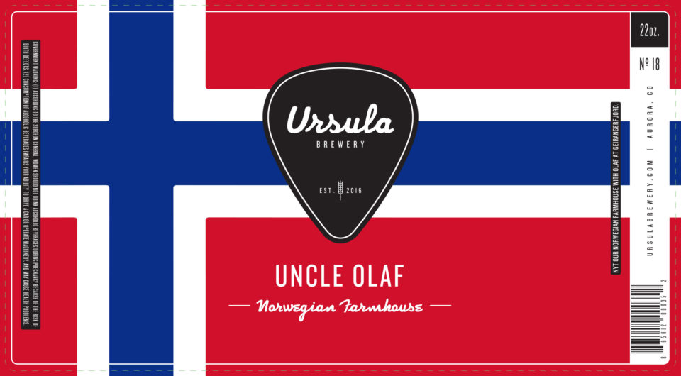 Uncle Olaf | Ursula Brewery | Aurora Colorado Brewery